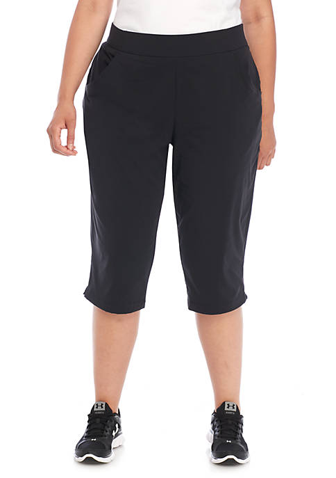 Plus Size Anytime Casual Capris