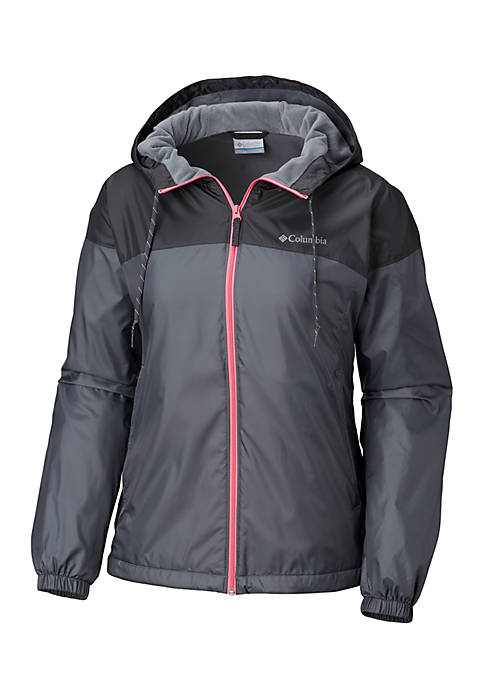 Columbia Plus Size Flash Forward Lined Windbreaker