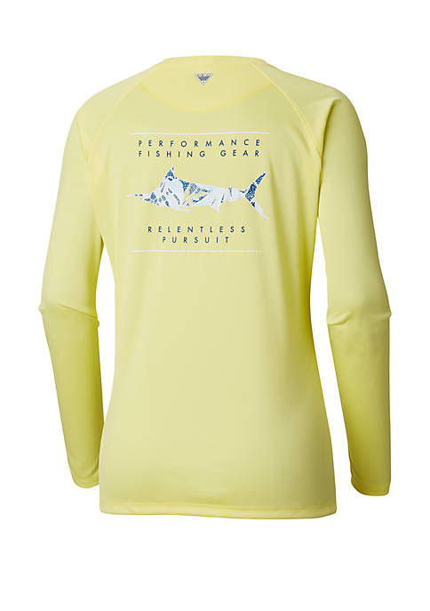 Columbia Tidal Tee PFG Printed Fish™ Long Sleeve