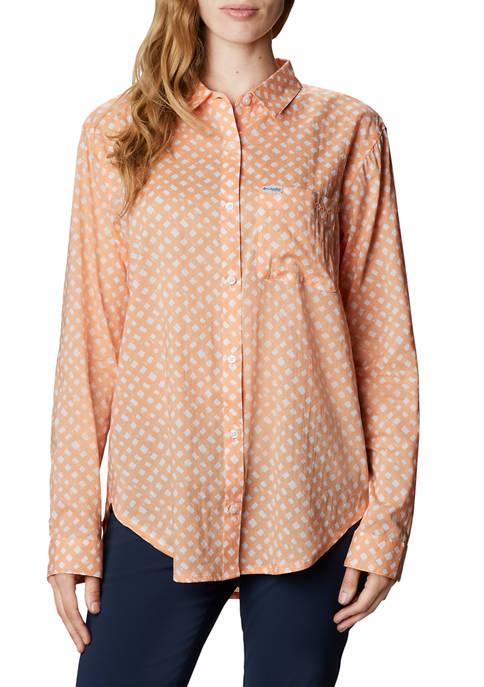 Womens Slack Water™ Woven Long Sleeve Shirt