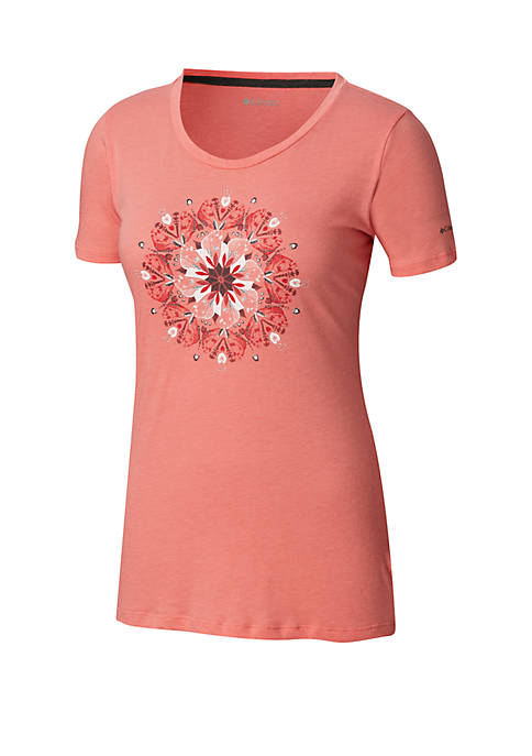 Columbia Plus Size Butterfly Wing Medallion T Shirt