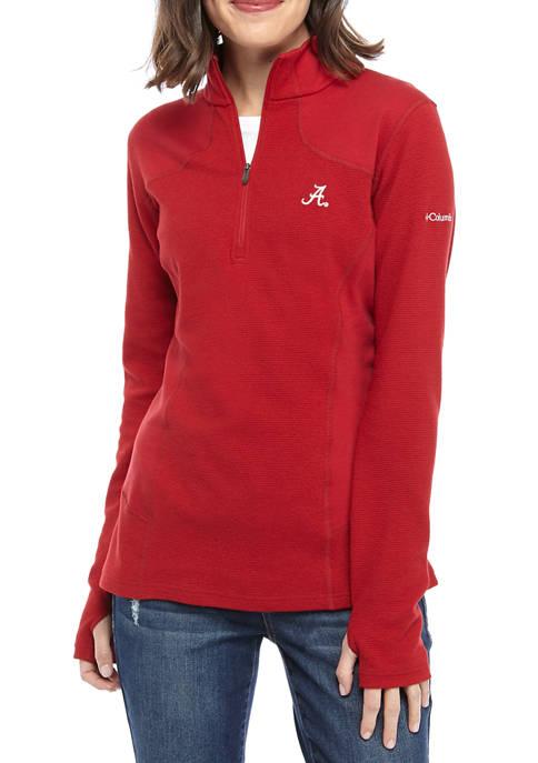 Columbia Womens NCAA Dream Ridge Half Zip Sweatshirt