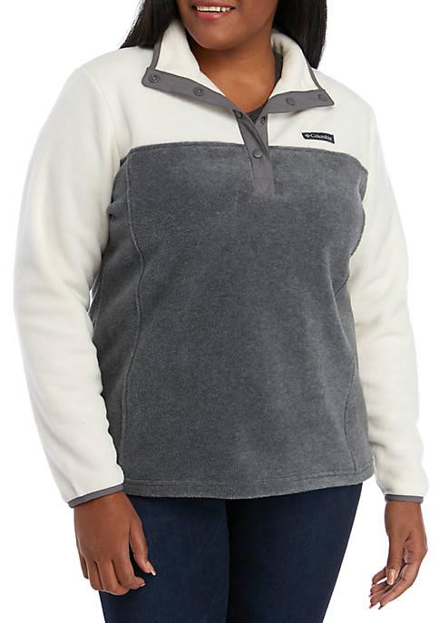 Columbia Plus Size Benton Springs™ Half Snap Pullover