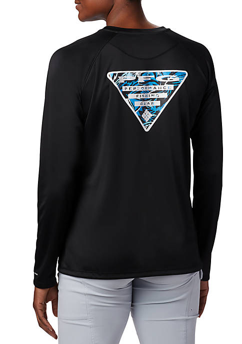 Columbia Tidal PFG Printed Triangle™ Long Sleeve T
