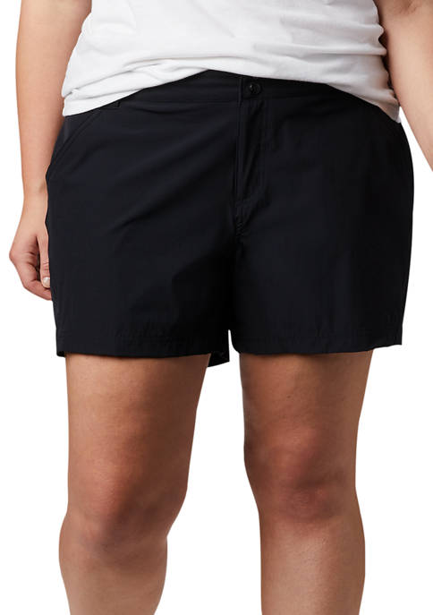 Columbia Plus Size Coral Point Shorts