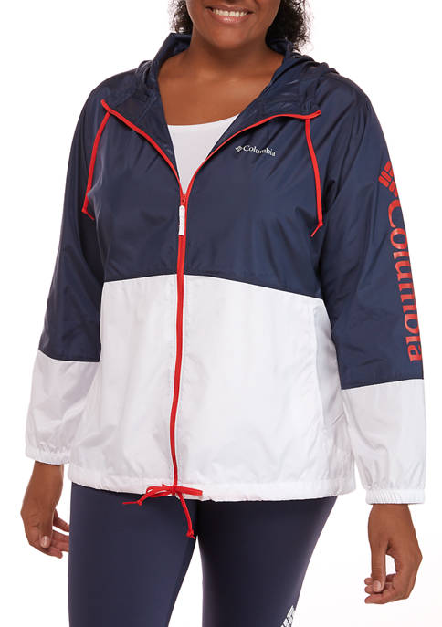 Columbia Plus Size Logo Flash Forward™ Windbreaker