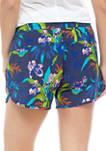 Bogata Bay™ Stretch Printed Shorts
