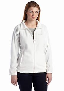 Plus Size Women's Benton Springs Fleece Full Zip Jacket