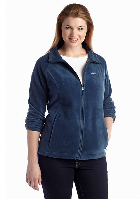 Columbia Plus Size Womens Benton Springs Fleece Full