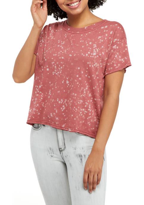 TRUE CRAFT Short Sleeve Boxy T-Shirt