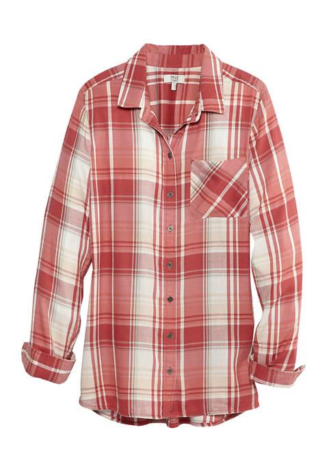 Juniors Button Front Shirt
