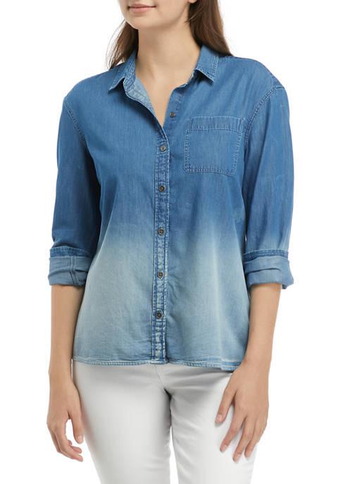 TRUE CRAFT Boyfriend Button Down Shirt