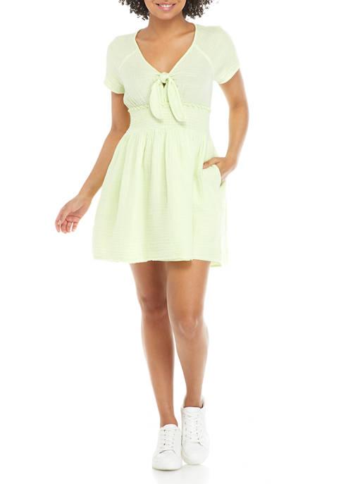 TRUE CRAFT Juniors Hot Spot Mini Dress