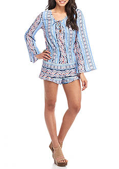 Red Camel® Long Sleeve Romper