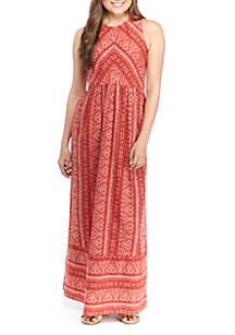 TRUE CRAFT Woven Maxi Dress