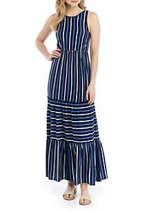 10d80b424972a8 Free People Lille Printed Maxi Dress · TRUE CRAFT Sleeveless Tiered Midi  Dress