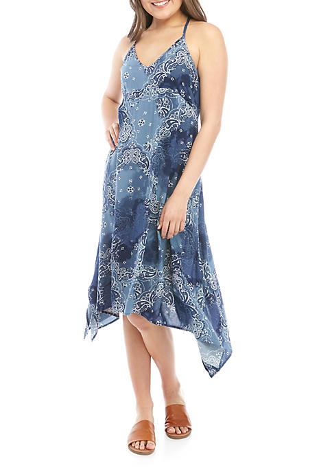 Woven Handkerchief Dress