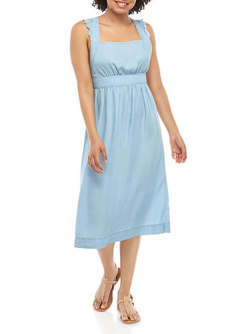 Juniors Woven Apron Dress