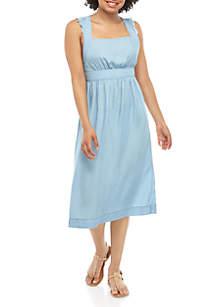 TRUE CRAFT Woven Apron Dress
