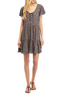 7d94d6718bcd8b TRUE CRAFT 9 in Flat Front Shorts · TRUE CRAFT Printed Dress