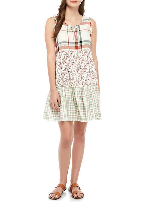 TRUE CRAFT Juniors Tiered Dress