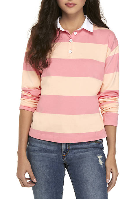 Rugby Knit Top