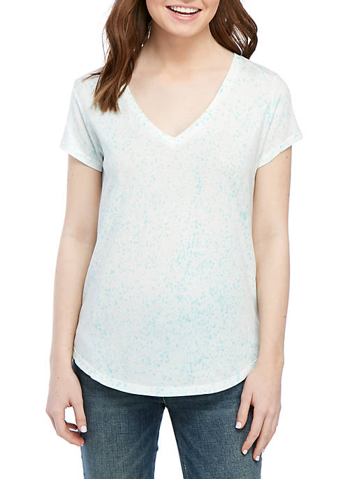 Short Sleeve V-Neck Shirt