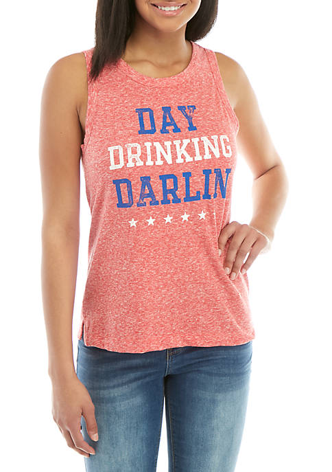 Muscle Graphic Tank Top
