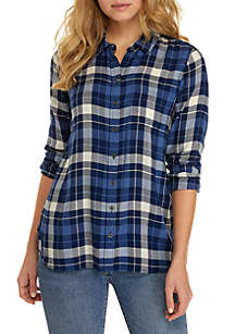TRUE CRAFT Button Up Top