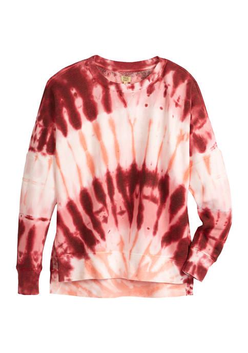 TRUE CRAFT Soft Shop Tie Dye Sweatshirt