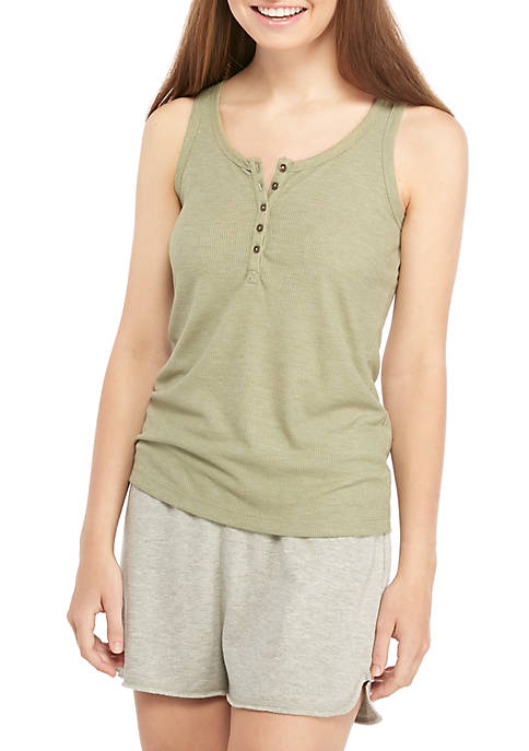 Soft Shop Juniors Henley Tank