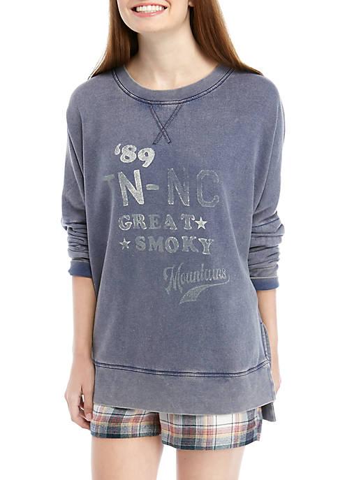 Soft Shop Graphic Crew Sweatshirt