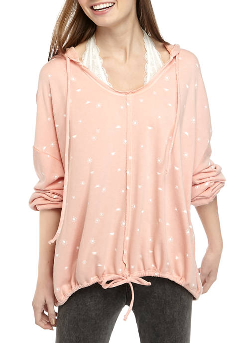 Juniors Soft Shop Long Sleeve Hooded Sweatshirt