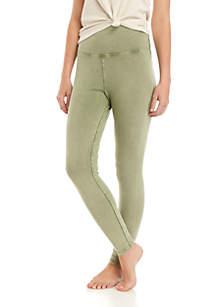 TRUE CRAFT Soft Shop Garment Dye Leggings
