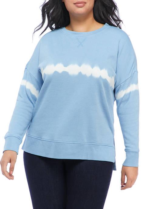 TRUE CRAFT Plus Size Crew Neck Sweatshirt