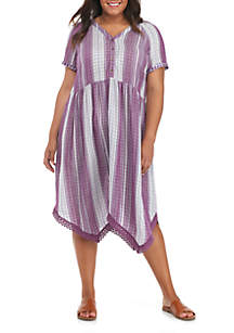 Y-Neck Dress