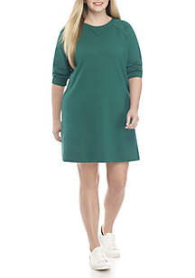 Plus Size Sweatshirt Dress