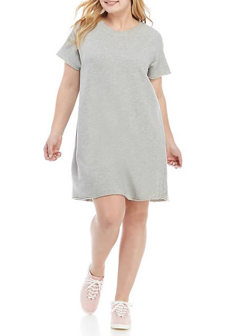 Plus Size Short Sleeve Heather Dress