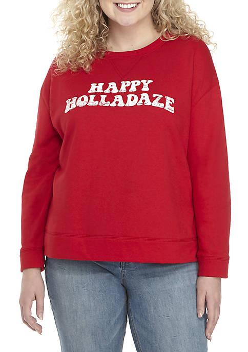 TRUE CRAFT Plus Size Graphic Sweatshirt
