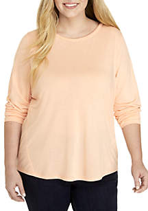 TRUE CRAFT Plus Size Long Sleeve Shirt