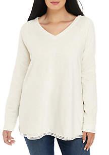 TRUE CRAFT Plus Size Tunic Sweatshirt