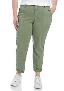 TRUE CRAFT Plus Size Utility Pants
