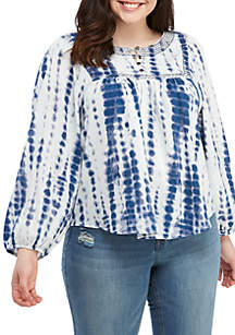 TRUE CRAFT Plus Size Smock Top