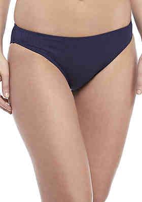 d81d234ca675 Malibu Dream Girl Ribbed High Cut Swim Hipster ...