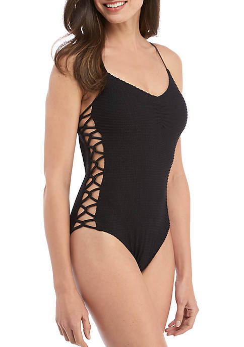 Pucker Up 1-Piece Swimsuit