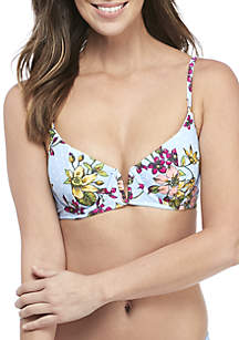 Malibu Dream Girl Preppy Poise Underwire Swim Top