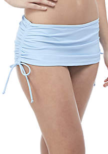 Malibu Dream Girl Solid Swim Skirt