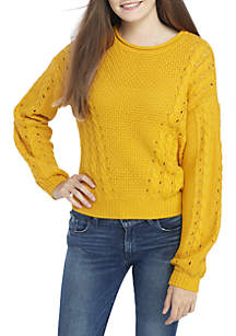 Love Always Cable Knit Sweater