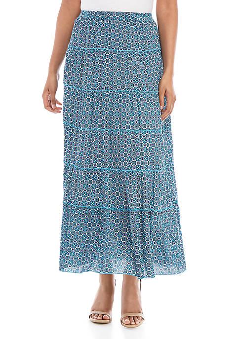 Kim Rogers® Woven Maxi Skirt