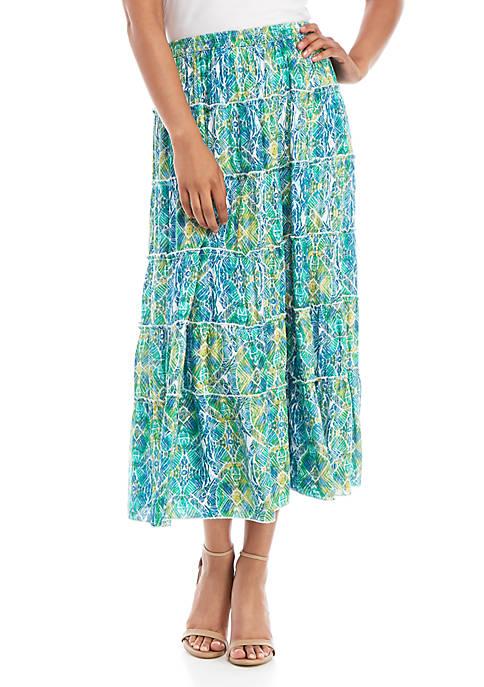 Kim Rogers® Woven Skirt